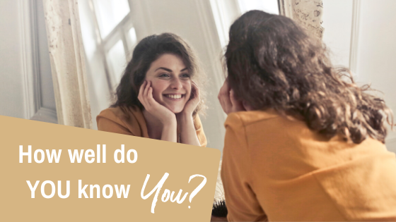 How well do YOU know YOU?